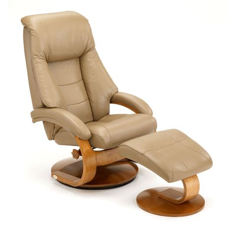 L Eather Recliner With Automin