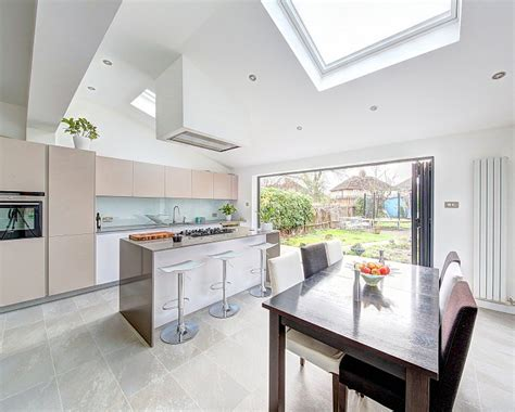 L Shaped Kitchen Extension Ideas