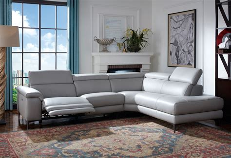 L Shaped Leather Reclining Sofa