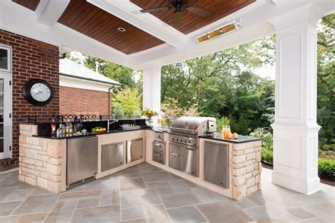 L Shaped Outdoor Kitchen Ideas