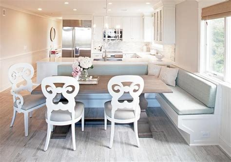 L Shaped Work Bench Built Into Bay