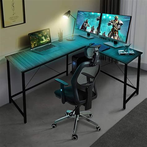 L desks for gaming Image