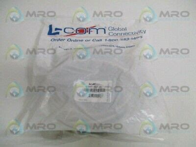 L-COM CSMN25MF-50 MOLDED D-SUB CABLENEW IN FACTORY BAG