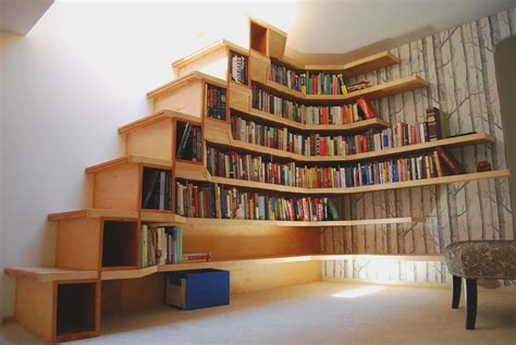 L-Shaped-Bookshelf-Plans