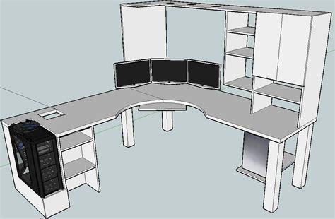 L-Shaped-Computer-Desk-Plans