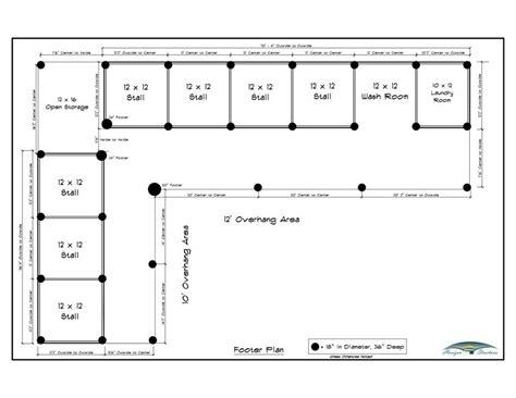 L-Shaped-Horse-Barn-Plans