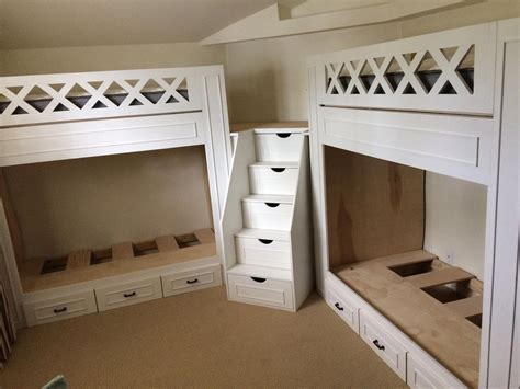 L-Shaped-Quad-Bunk-Bed-Plans