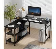 Best L shaped computer desks for home