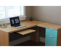 Best L shaped desk plans to build