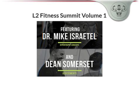 @ L2 Fitness Summit Vol 1   Build An Easy Fitness Training .