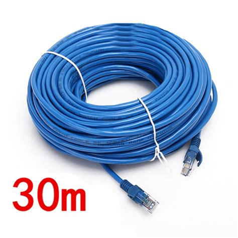 LIKE SHOP 100FT 30M CAT5 RJ45 Ethernet LAN Internet Network UTP Cable Wire Patch