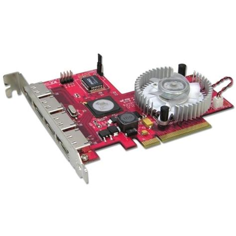 LINDY 4 Port SATA II Card RAID 5 Function PCI-Express x8 (51133)