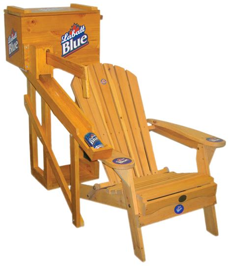 Labatt-Blue-Adirondack-Chair-With-Cooler