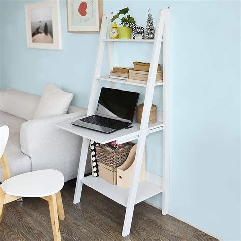 Ladder Bookshelf Desk