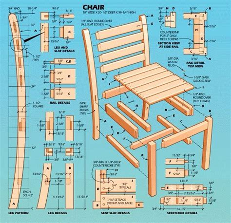 Ladder-Back-Chair-Plans-Free