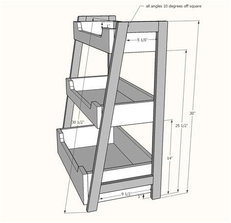 Ladder-Book-Shelf-Plans