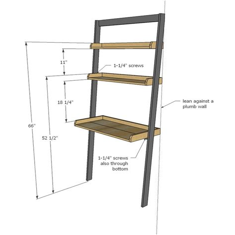 Ladder-Desk-Plans