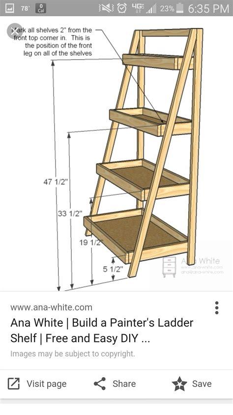 Ladder-Display-Shelf-Plans