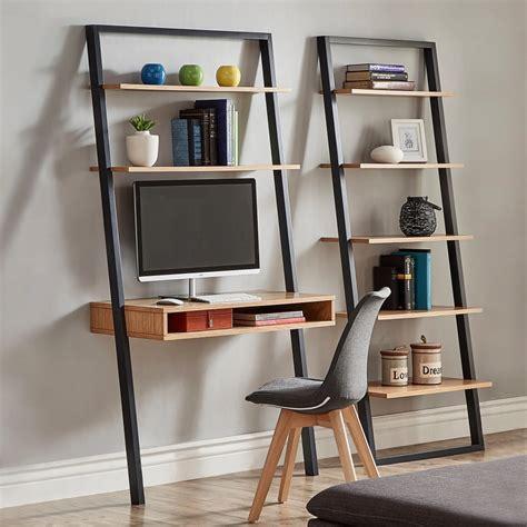 Ladder-Shelf-Desk-Diy