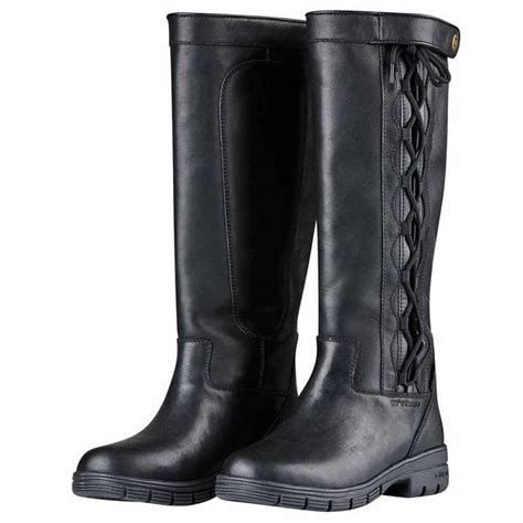 Ladies Pinnacle Black Boots