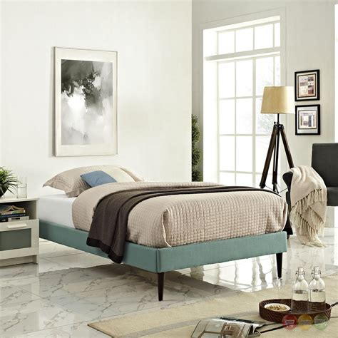 Laguna Upholstered Platform Bed