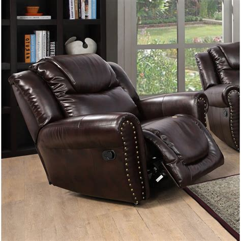 Lahti Leather Manual Recliner By Red Barrel Studio