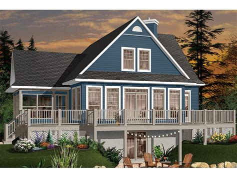 Lakeside Cabin Plans
