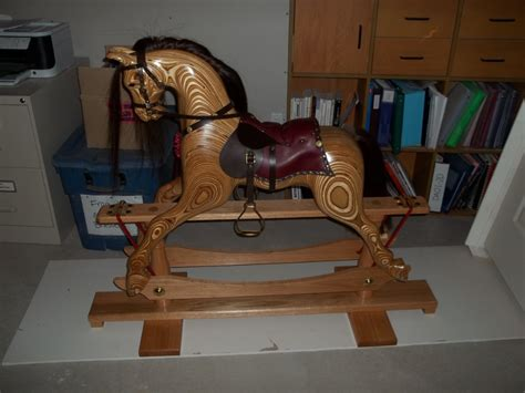 Laminated-Plywood-Rocking-Horse-Plans