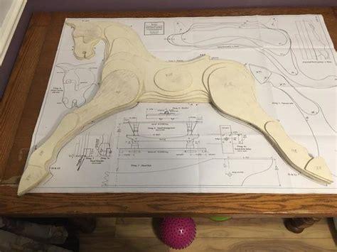Laminated-Wood-Rocking-Horse-Plans