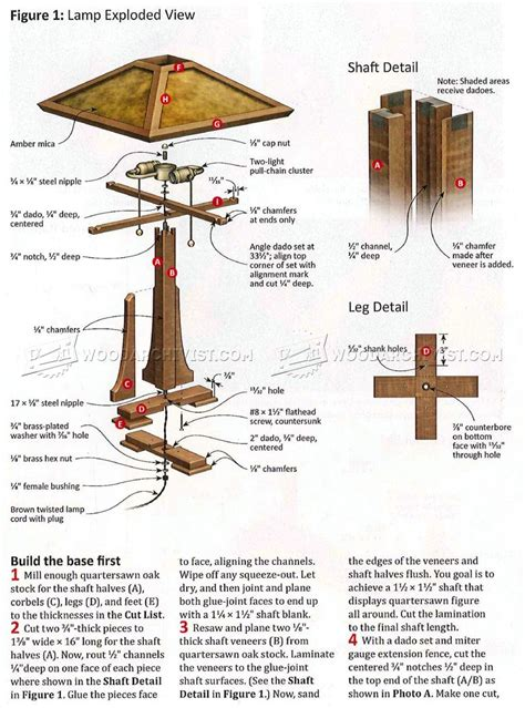 Lamp-Table-Plans