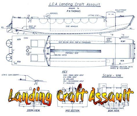 Landing-Craft-Assault-Plans