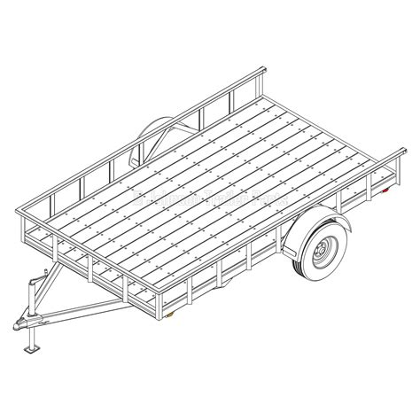 Landscape Trailer Plans Blueprints