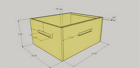 Langstroth Plans With Rabbit Joints