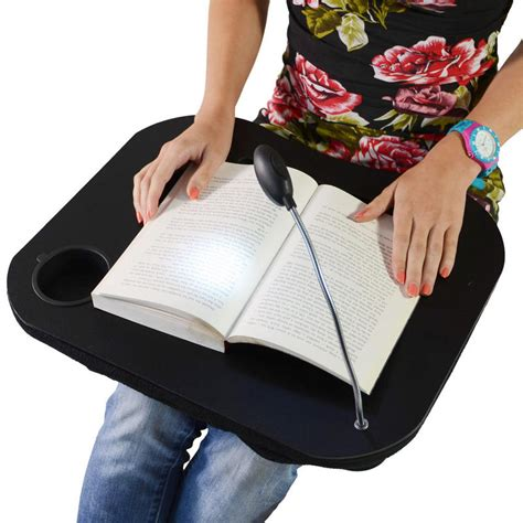 Lap Table Tray With Light