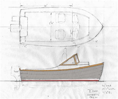 Lapstrake Powerboat Plans