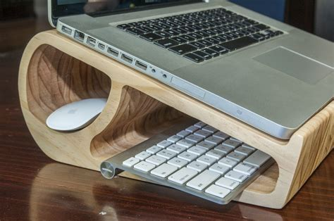 Laptop Stand Wood Diy Ideas