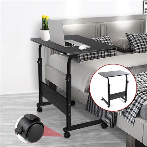 Laptop Table Stand With Wheels