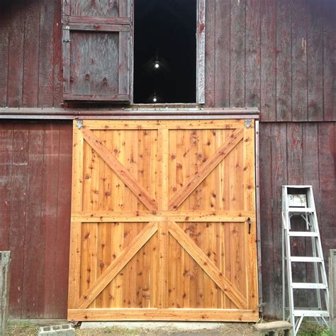 Large Barn Door Plans