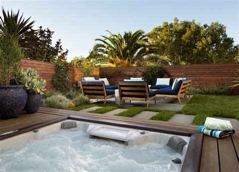 Large Deck Plans With Pool And Hot Tub