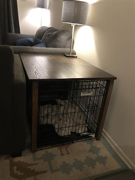 Large Dog Crate Table Diy