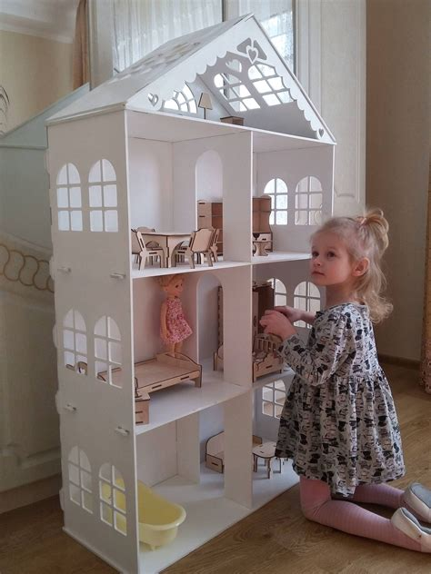 Large Doll House Plans 6 Foot