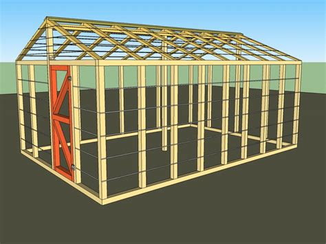 Large Greenhouse Plans Free