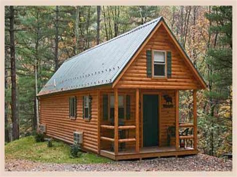 Large Hunting Cabin Plans