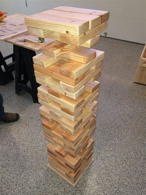 Large Jenga Blocks Diy Projects