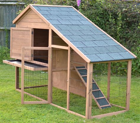 Large Outdoor Rabbit Hutch Blueprints Free