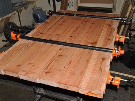 Large Panel Glue Up Without Jointer