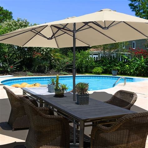Large Picnic Table Umbrella At Costco