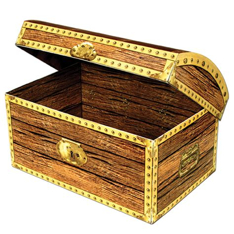 Large Pirate Treasure Chest Coins Represented