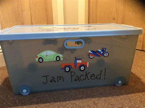 Large Plastic Toy Box On Wheels