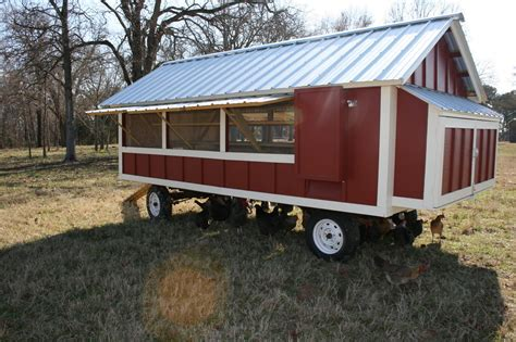 Large Portable Chicken Coop Plans